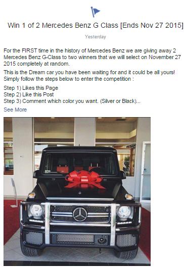 Mercedes scam
