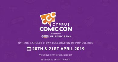 Cyprus Comic Con – LIVE LINK