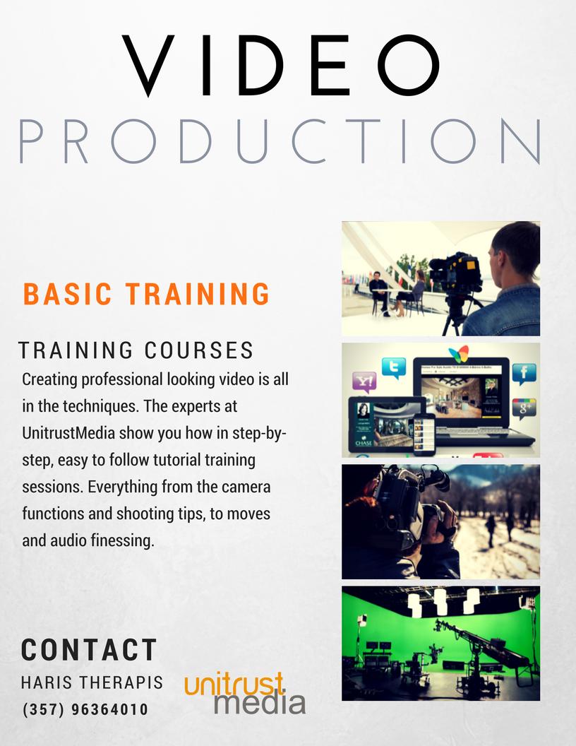 video-production-training
