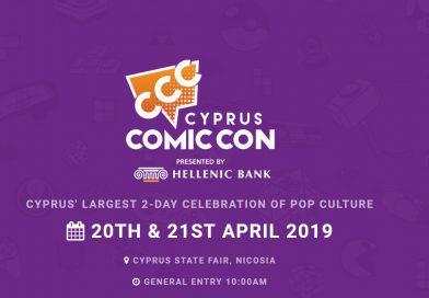 Cyprus Comic Con – LIVE LINK